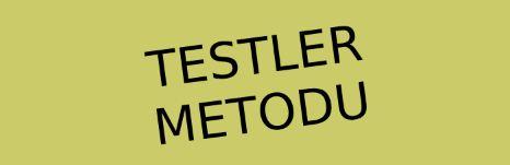 Testler Metotu Nedir?