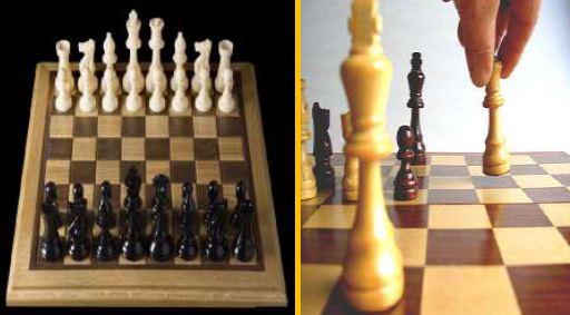 Çocuklar için satranç oyunu